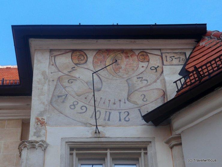 Sundial at Stift Klosterneuburg, Austria