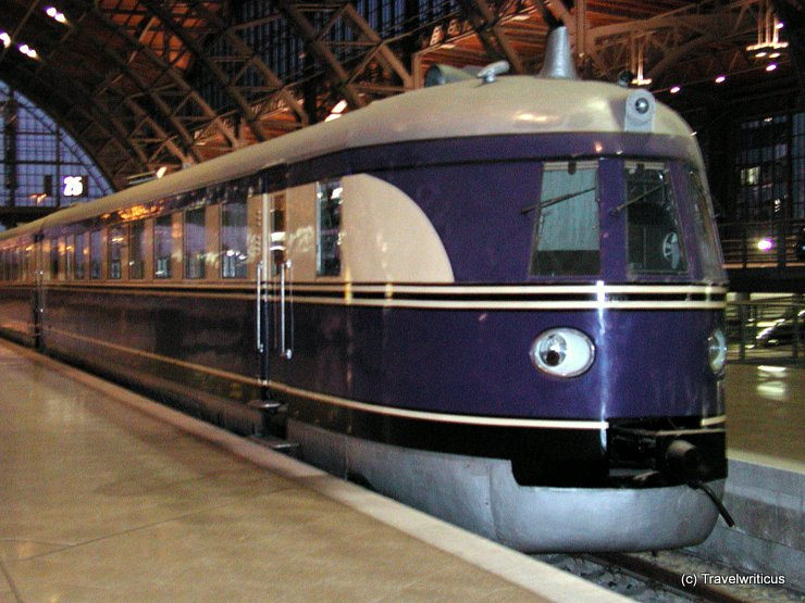 Railcar SVT 137 225 in Leipzig, Germany