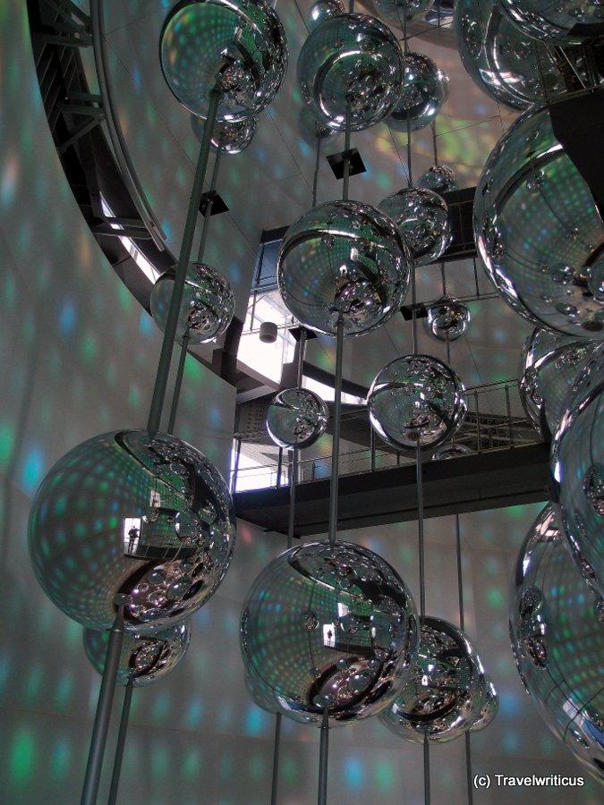 Inside the Stahlwelt of Linz, Austria