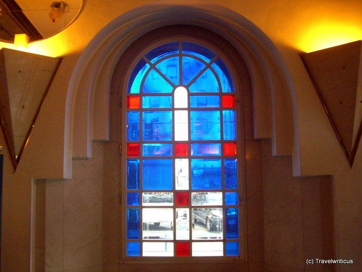 Window at Ljubljana railway station