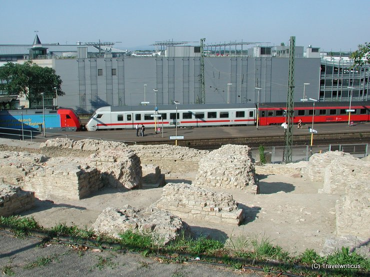 Ancient Roman theatre in Mainz, Germany