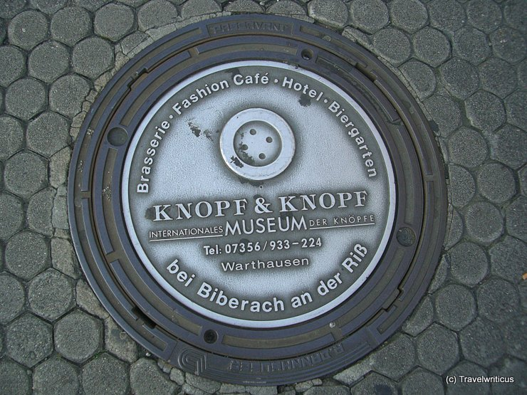 Manhole cover in Mannheim, Germany