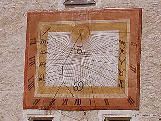 Sundial in Maria Saal, Austria