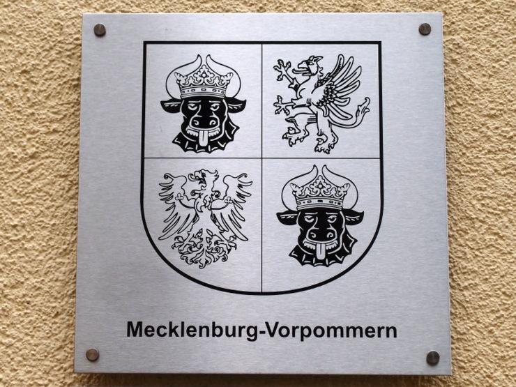 Coat of arms of Mecklenburg-Vorpommern, Germany