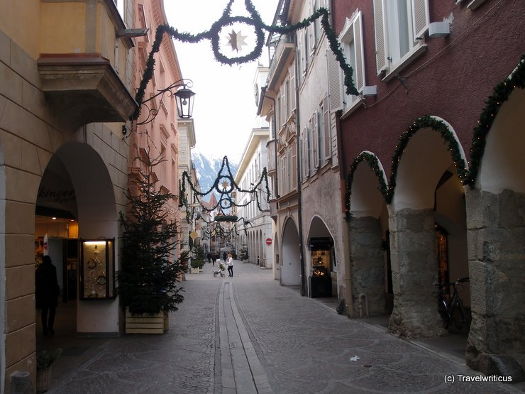 Laubengasse in Merano, Italy