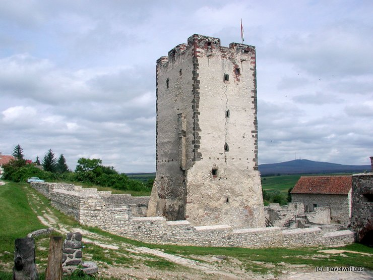 Kinizsi-vár in Nagyvázsony, Hungary