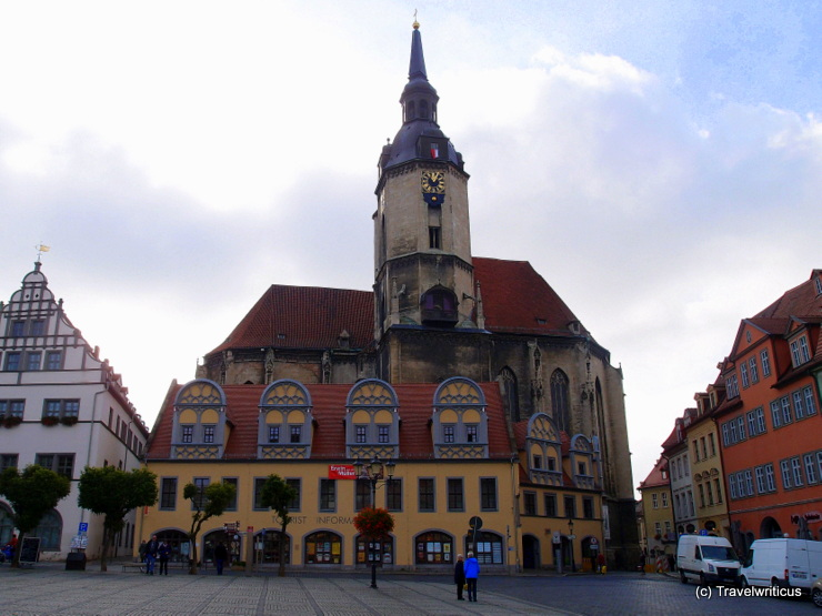 St. Wenceslaus Church (Wenzelkirche) in Naumburg (Saale), Germany