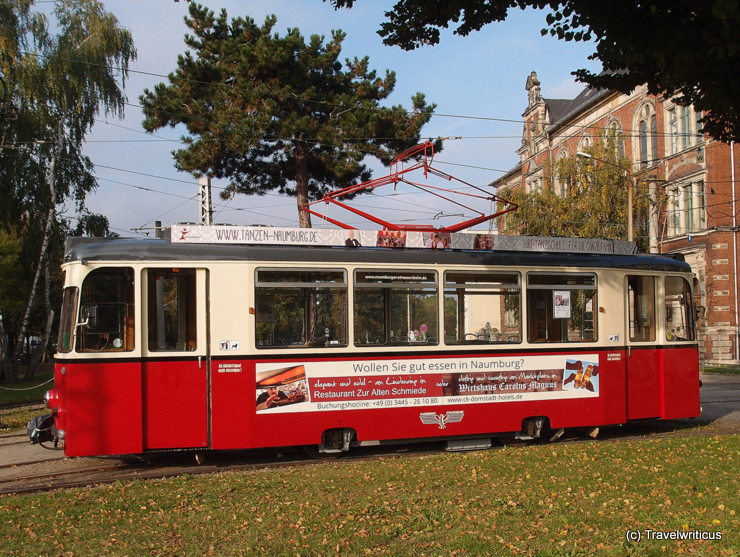 Tramcar Class 70/1 dating back to 1973 in Naumburg (Saale), Germany