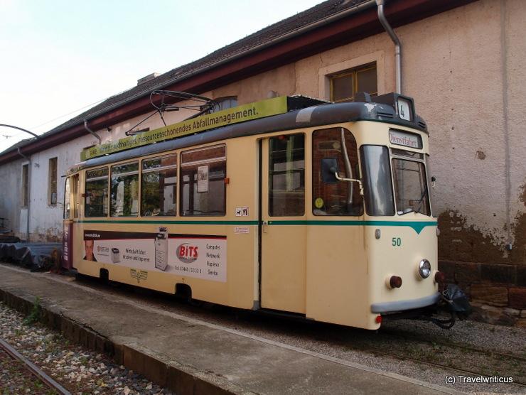 Tramcar Class 70/1 in Naumburg (Saale), Germany