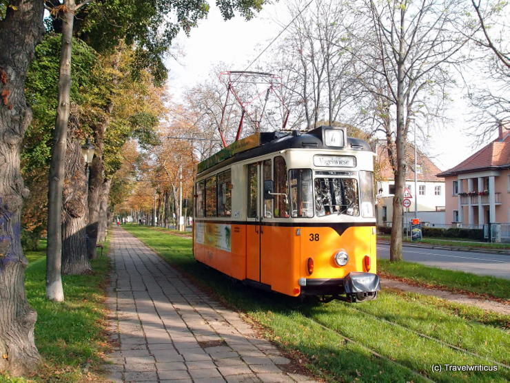 Tramcar 'Gothawagen' T57 in Naumburg (Saale), Germany