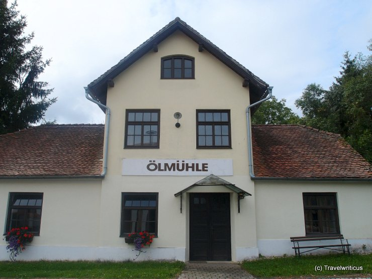 Pumpkin seed oil mill in Neumarkt an der Raab, Austria