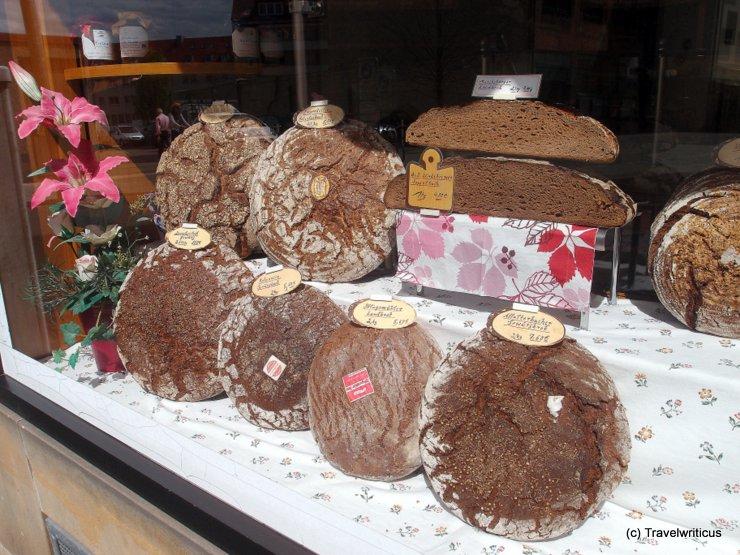Bread store in Nuremberg, Germany