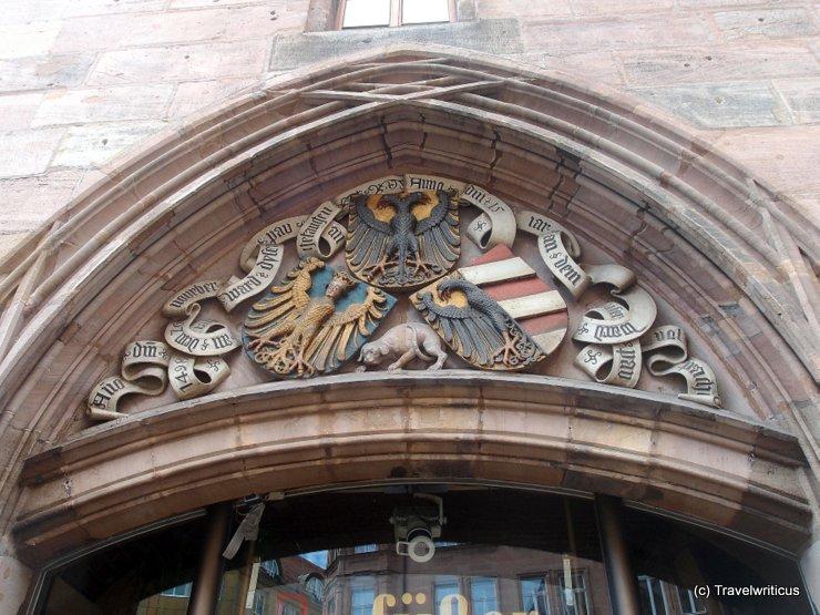 Emblems of Nuremberg, Germany