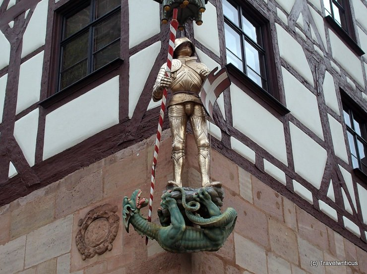 Sankt George in Nuremberg, Germany
