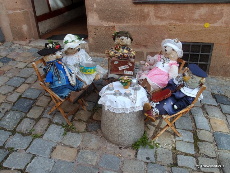 Teddy bears in the streets of Nuremberg, Germany
