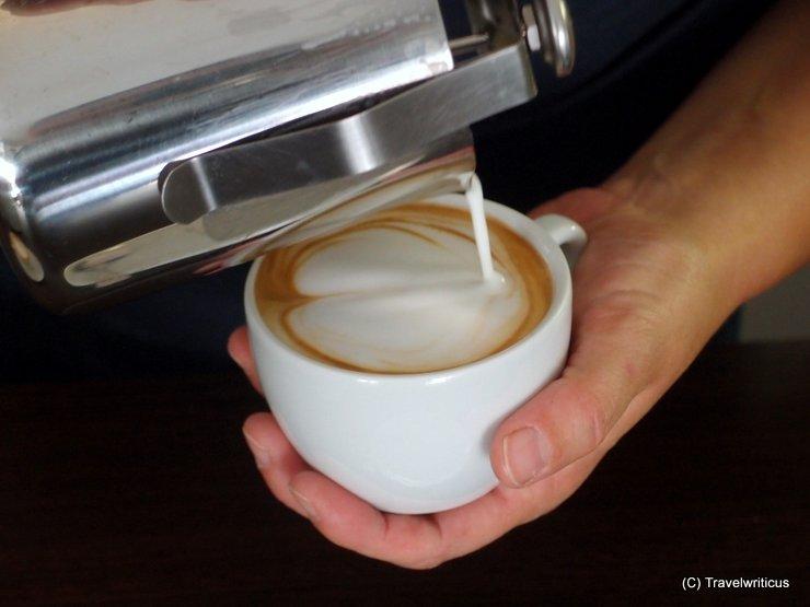 Latte Art in Oberwart, Austria
