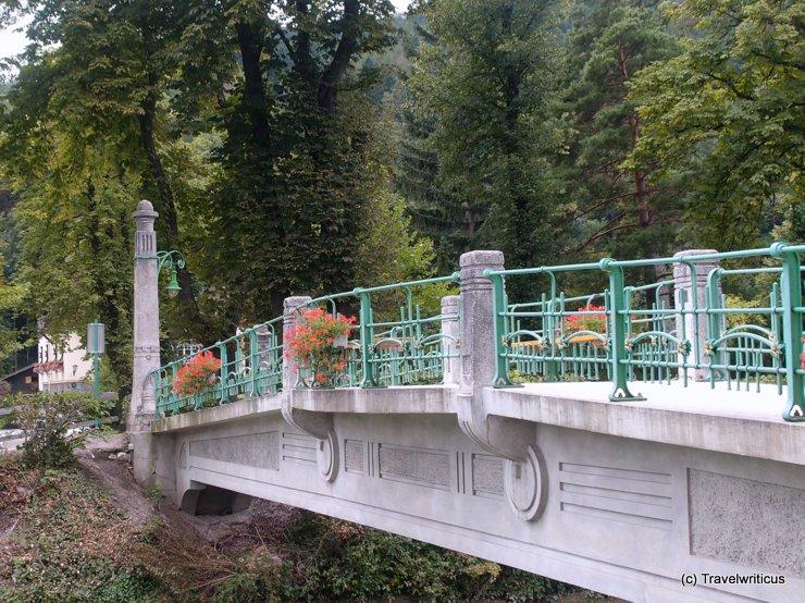 Parksteg in Payerbach, Austria