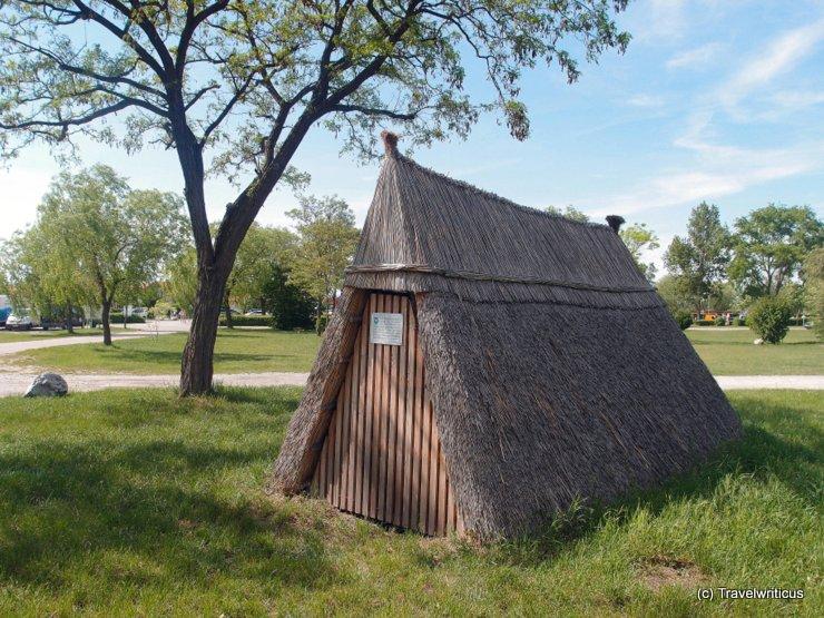 Pannonian herder's hut in Podersdorf, Austria