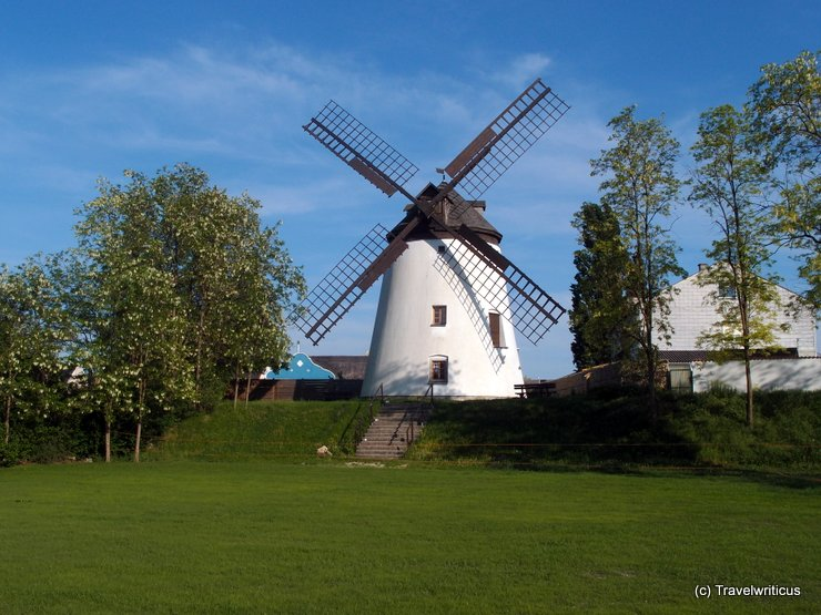 The windmill of Podersdorf, Austria