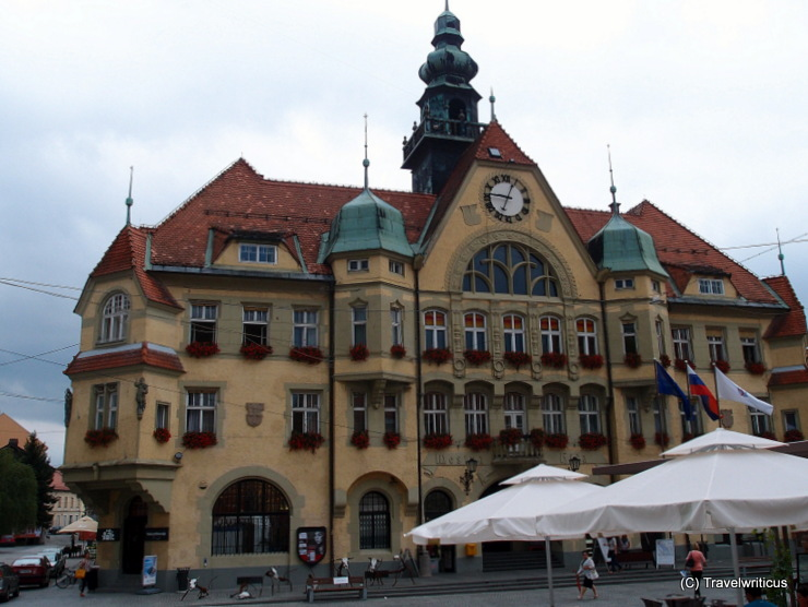 New city hall of Ptuj, Slovenia