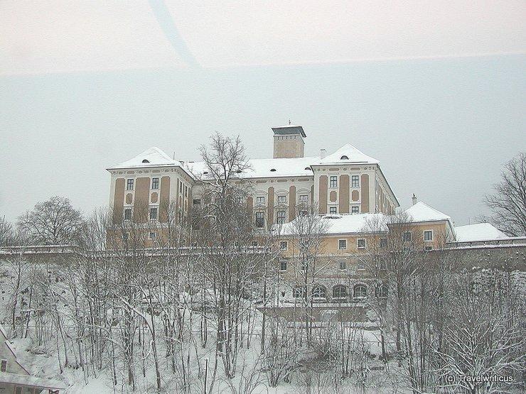 Trautenfels Castle in Pürgg-Trautenfels, Austria