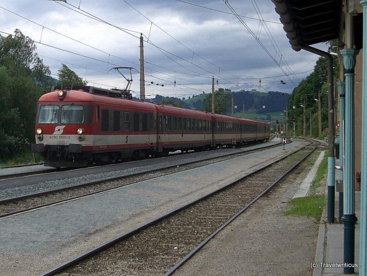 ÖBB 4010 at Radstadt railway station