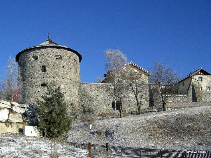 Town walls of Radstadt, Austria
