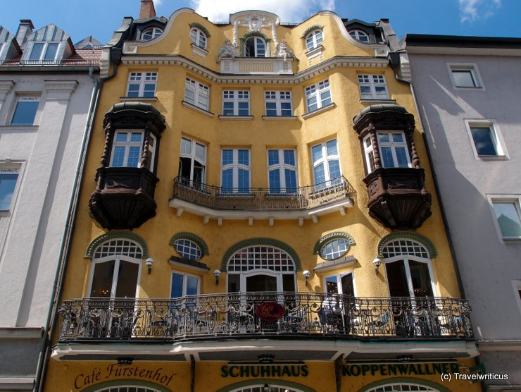 Café Fürstenhof in Regensburg, Germany
