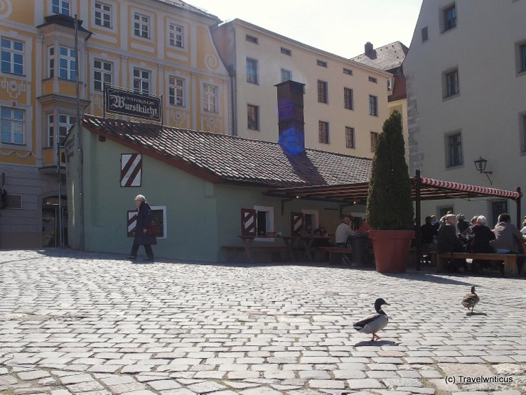 Historical tavern in Regensburg, Germany