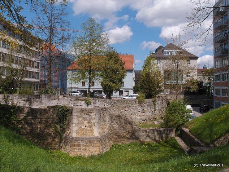Town walls of Regensburg, Germany
