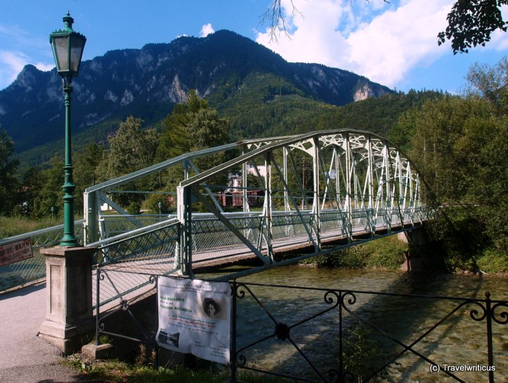 Footbridge in Reichenau an der Rax, Austria