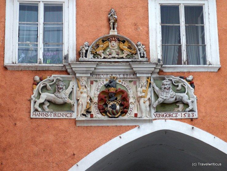 Relief at the Verderber - Haus in Retz, Austria