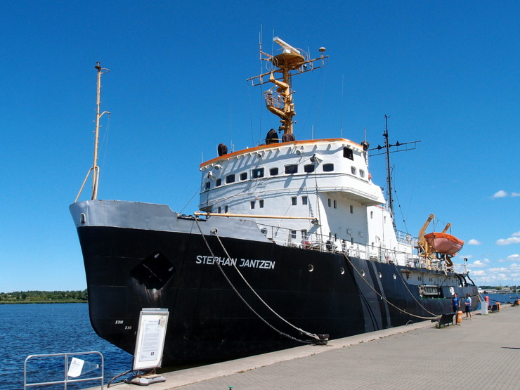 Icebreaker 'Stephan Jantzen' in Rostock, Germany