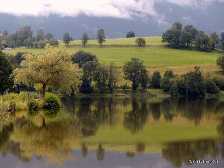 Ritzensee in Saalfelden, Austria
