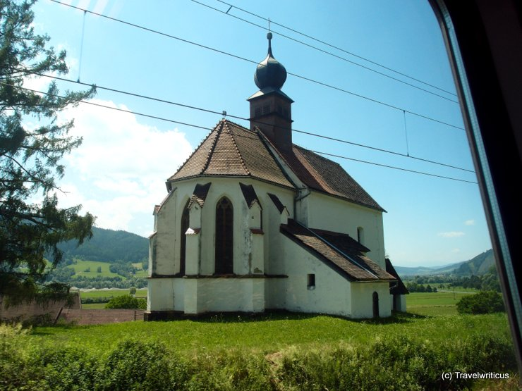 Walpurgiskirche in Sankt Michael in Obersteiermark, Austria