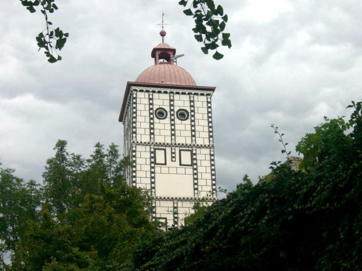 Tower of Renaissance palace Schallaburg, Austria