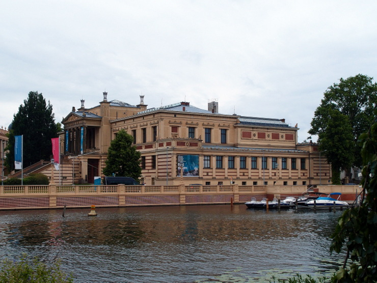 Gallery of Old & New Masters in Schwerin, Germany