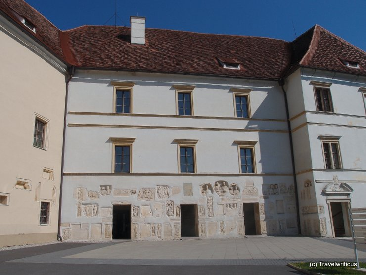 Lapidarium at Seggau Castle, Austria