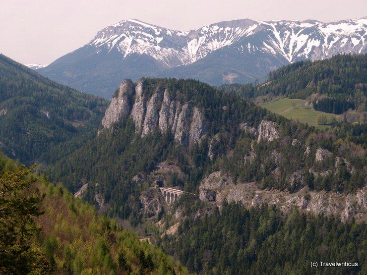 Impression of the Semmering Railway, Austria