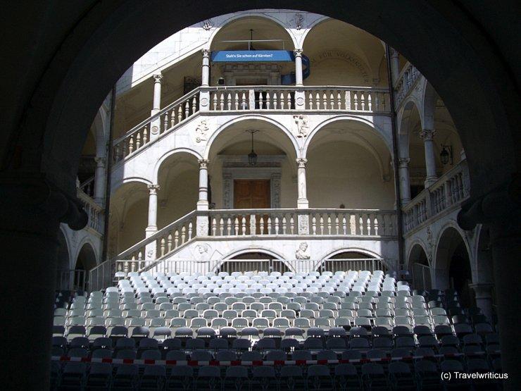 Auditorium at Schloss Porcia, Austria