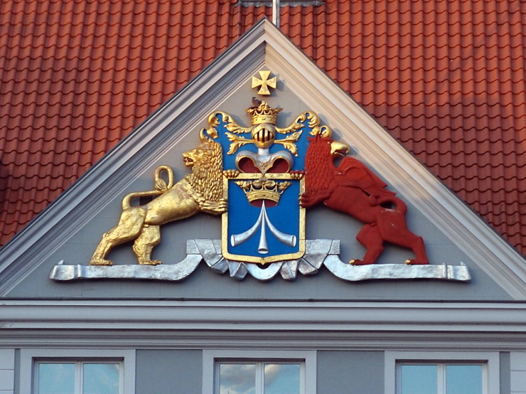 Emblem of Stralsund during Swedish era