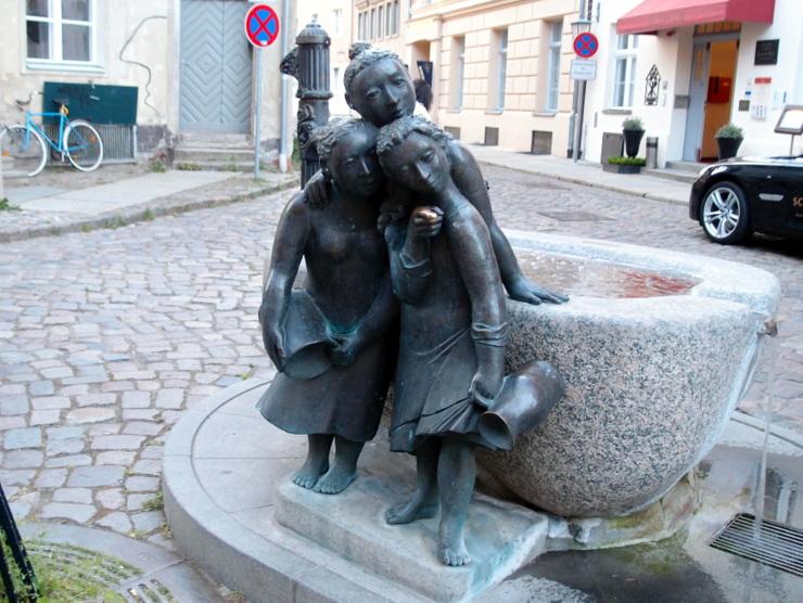 'The Garrulous Women' in Stralsund, Germany