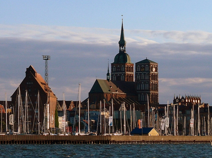 St. Nicholas' Church in Stralsund, Germany