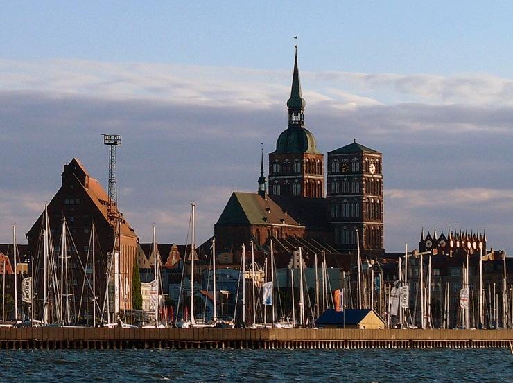 St. Nicholas' Church in Stralsund, Germany