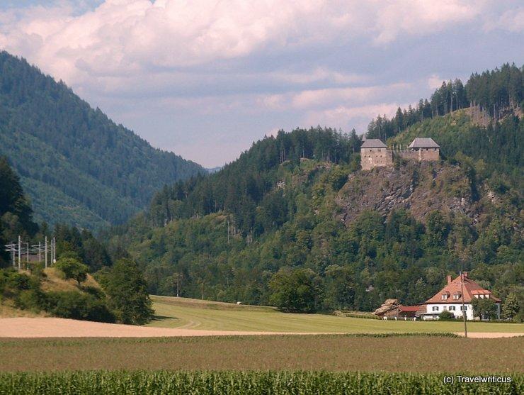 Burgruine Dürnstein in Styria, Austria
