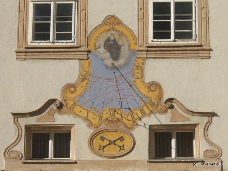 Sundial at St Peter in Salzburg, Austria