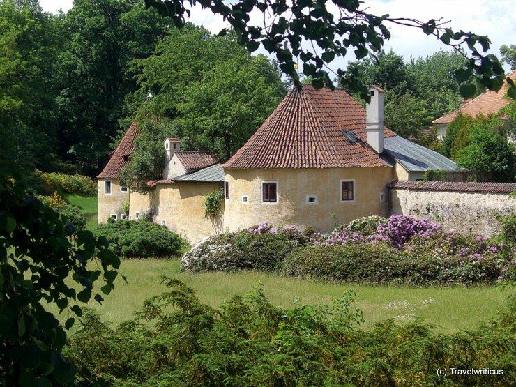 Town wall of Třeboň, Czech Republic