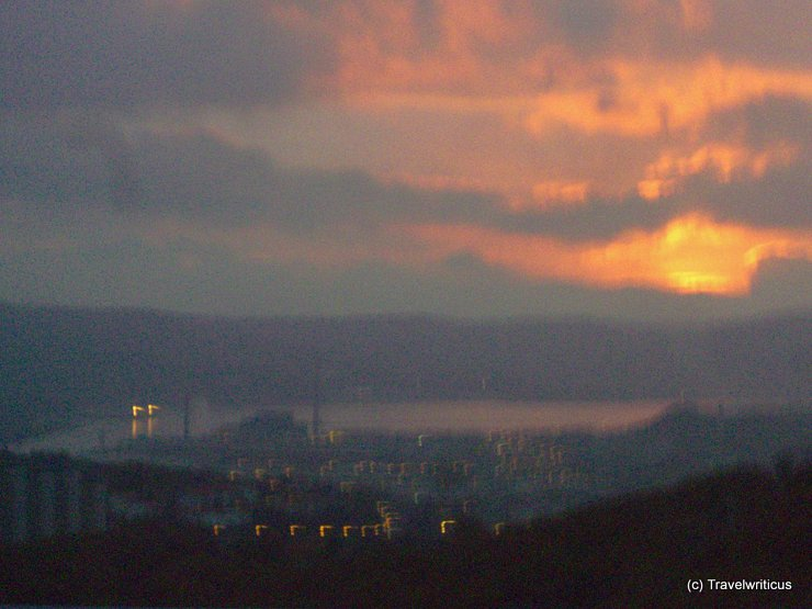 Trieste at Sunset