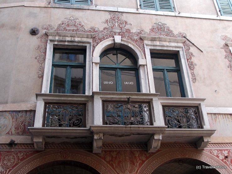 Nice balcony in Udine, Italy