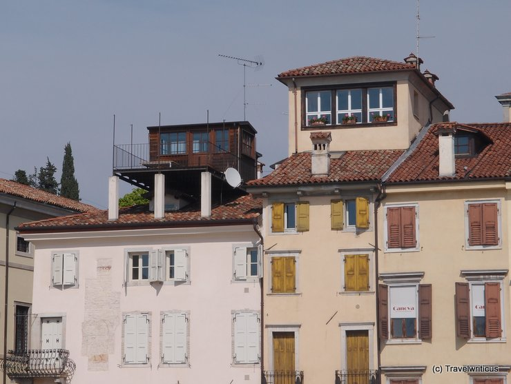 Penthouse at a piazza in Udine, Italy